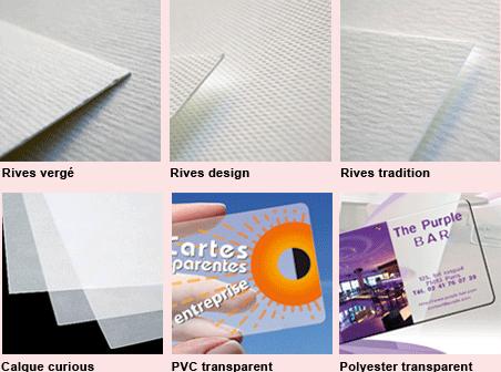 Papiers Cartes De Visite